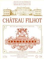 Chateau Filhot 2014